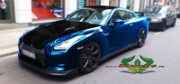Nissan GTR - Blue Chrome