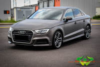 Audi A3 - Brushed Alu Antracite Grey Gloss