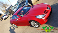 Mercedes SLK - Dark Red Metallic Matt