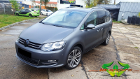 VW Sharan - Charcoal Metallic Matt - Raven Black Carbon