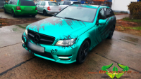 Mercedes AMG - Mermaid green matt schwarz