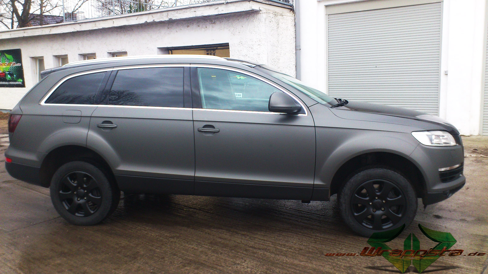 Audi Q7 Ultra Matt Anthrazit Metallic Amp Glanz Schwarz