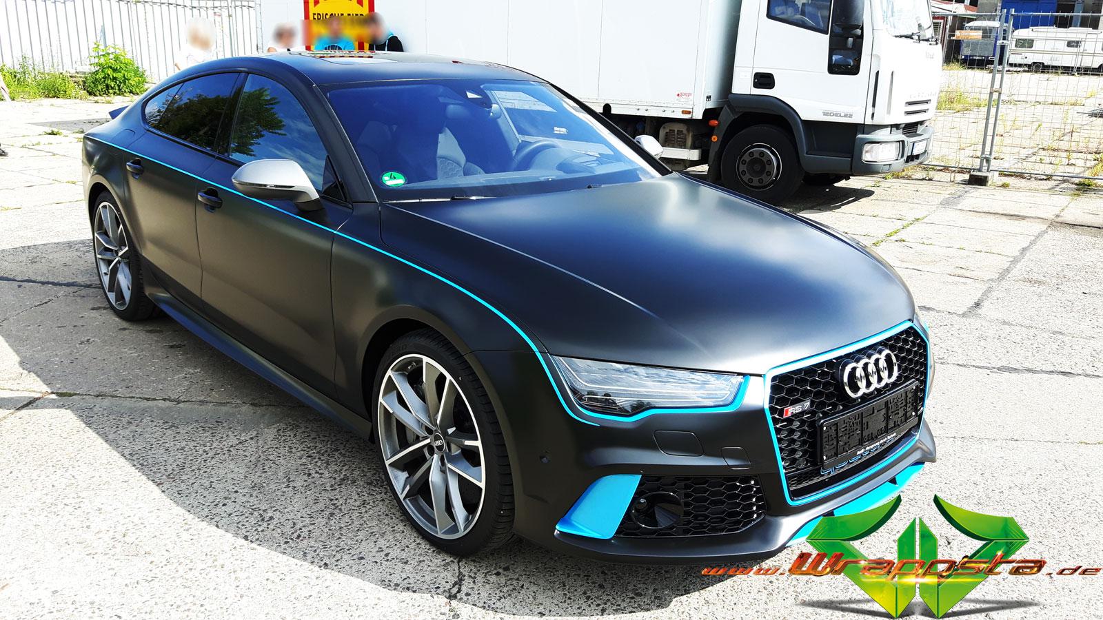 Audi Rs7 Schwarz Matt At Qf45 Startupjobsfa