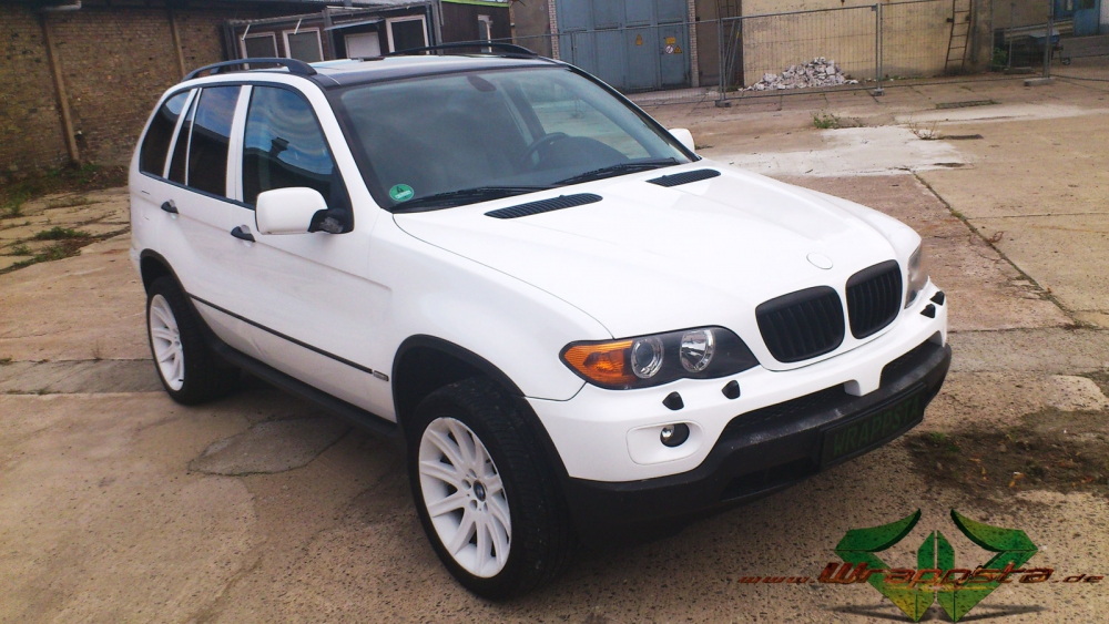 Bmw X5 Glanzwei 223 Wrappsta Berlin